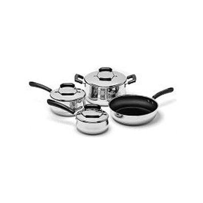 Stainless Steel 7-Piece Cookware Set