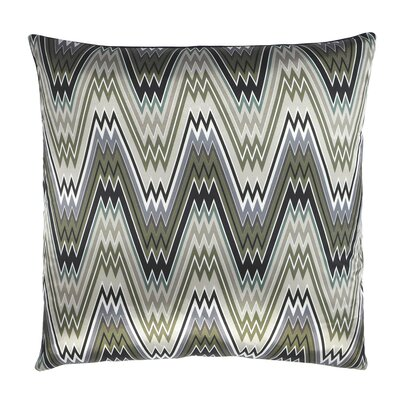The Big Zigbowski Zig Zag Chevron Throw Pillow