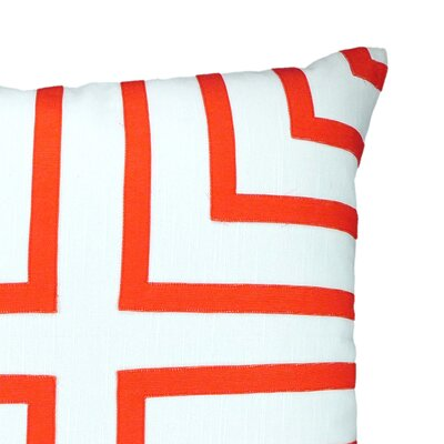 NECTARmodern Foursquare Hand-Sewn Applique Throw Pillow
