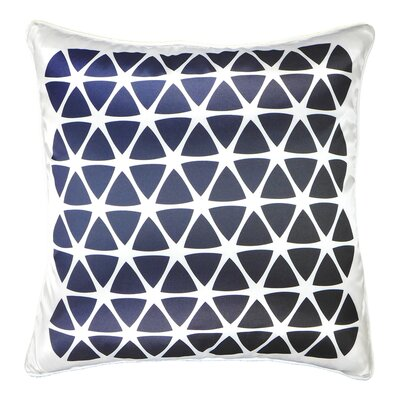 Wedge Triangles Hexagons Throw Pillow