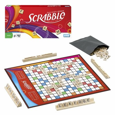 Hasbro Scrabble Brand Crossword Game