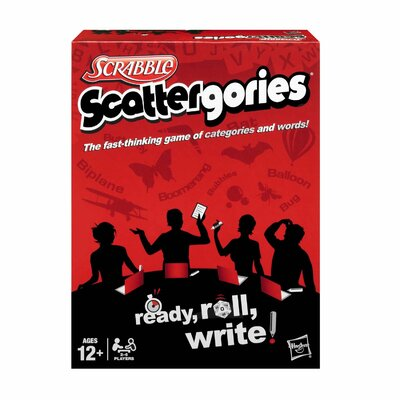 Hasbro Scrabble Scattergories