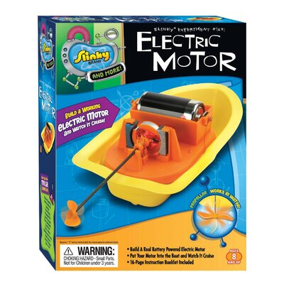 Slinky Science and Activity Kits Electric Motor