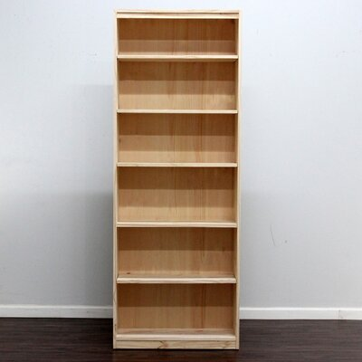 "Gothic Furniture York 84"" Bookcase"