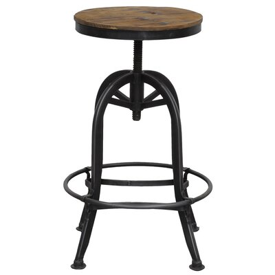 "Kosas Home Akron 25"" Adjustable Bar Stool"