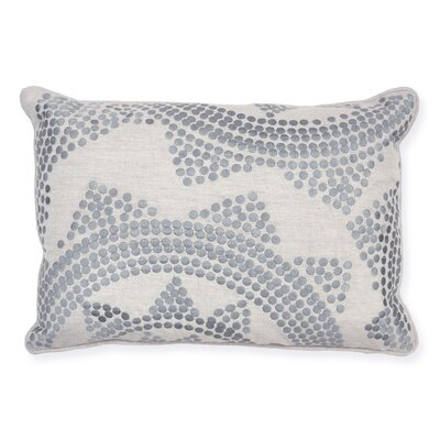 Kosas Home Urban Origami Kaiteki Embroidered Pillow
