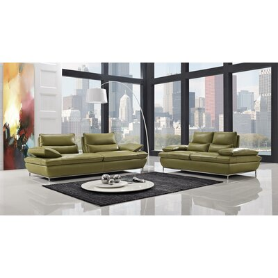 CREATIVE FURNITURE Naomi Leather Loveseat
