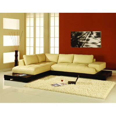Manhattan Left Facing Chaise Sectional Sofa