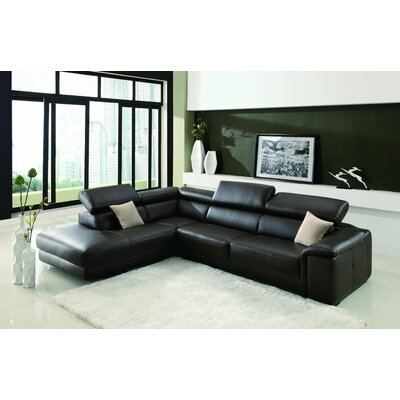 Deon Left Facing Chaise Sectional Sofa