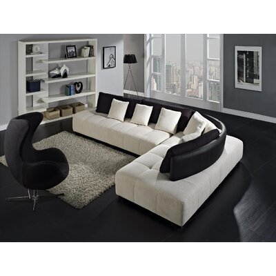Creative Furniture Almira Right Facing Chaise Sectional Sofa