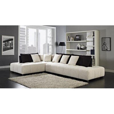 CREATIVE FURNITURE Almira Left Facing Chaise Sectional Sofa