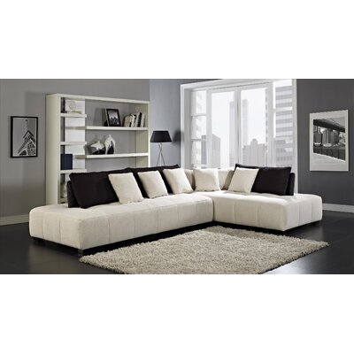 Almira Right Facing Chaise Sectional Sofa