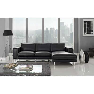 Anika Right Facing Chaise Sectional Sofa