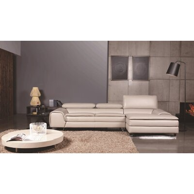 Roxana Right Facing Chaise Sectional Sofa