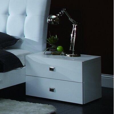 Creative Furniture Scarlet 2 Drawer Nightstand