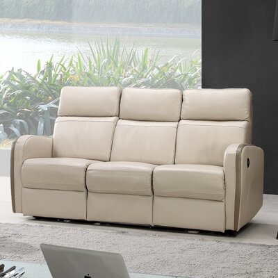 Argentina Power Leather Reclining Sofa