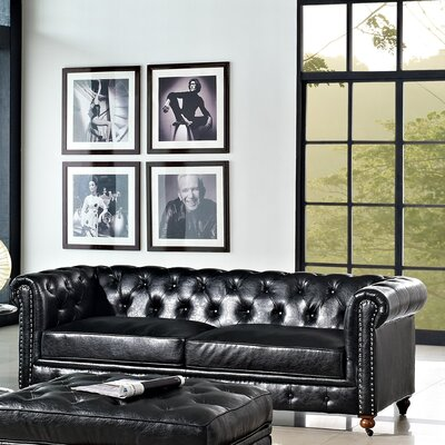 Emily Leather Sofa