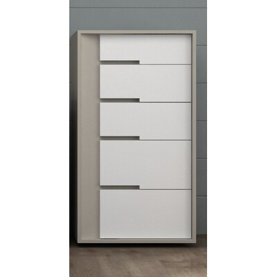 Solo 5 Drawer Chest