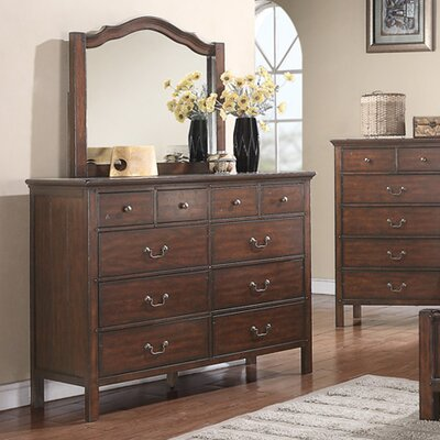 Forest Cove 10 Drawer Dresser