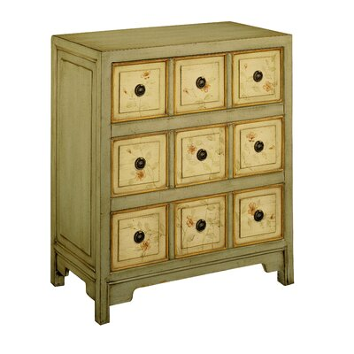 Stein World Lauren Hand Painted Apothecary Chest