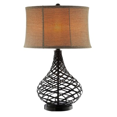 Stein World Accent Lighting Open Weave Metal Gourd Table Lamp