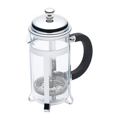 KitchenCraft Le'Xpress Three Cup Chrome Plated Cafetiere