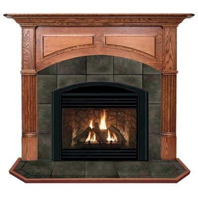 Hearth and Home Mantels Deluxe Geneva Flush Fireplace Mantel Surround