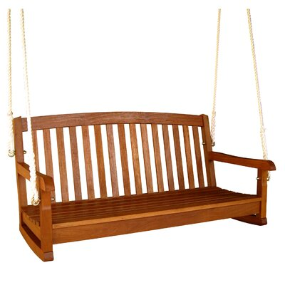 International Caravan Balau Porch Swing