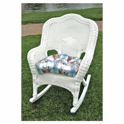 <strong>International Caravan</strong> Monaco Outdoor Wicker Rocking Chair