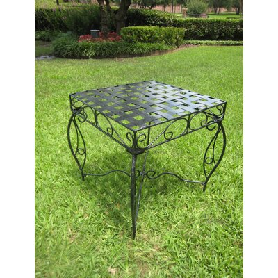Mandalay Wrought Iron Side Table