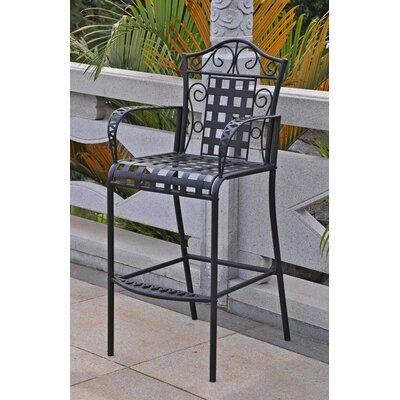 International Caravan Mandalay Barstool (Set of 2)