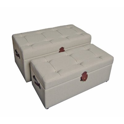 Seville Upholstered Storage Bedroom Benches