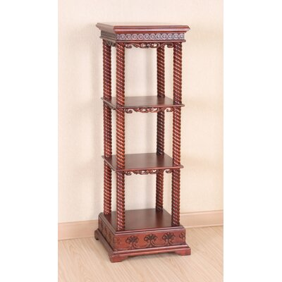 International Caravan Shangri-La Wood Display Cabinet