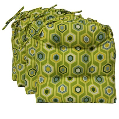 Blazing Needles Outdoor Chair Cushion (Set of 4)