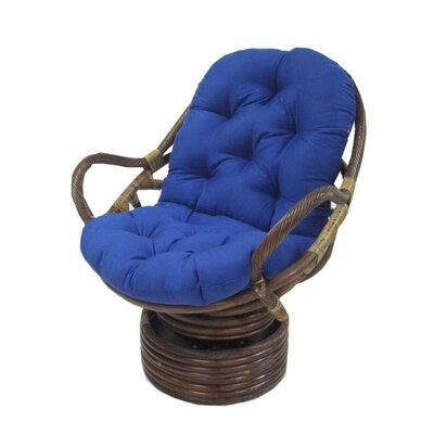 Blazing Needles Premium Swivel Rocker Cushion