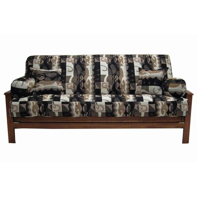 Blazing Needles Jacquard Chenille Elysian Fields Futon Cover Set