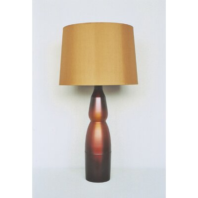 KeikoTable Lamp in Rust Fade with Gold Shade