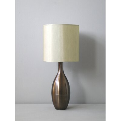 Babette Holland Juggler Table Lamp in Mocha with Pebble Shade