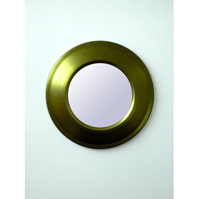 Babette Holland Target Mirror in Olive