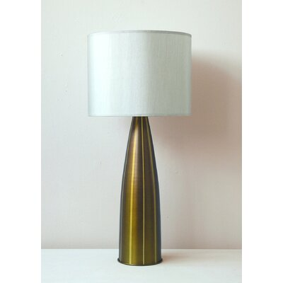 Babette Holland Val Striped Table Lamp with Shade