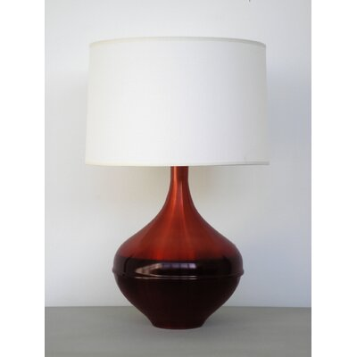 Babette Holland Horizon Kiss Table Lamp with Linen Shade