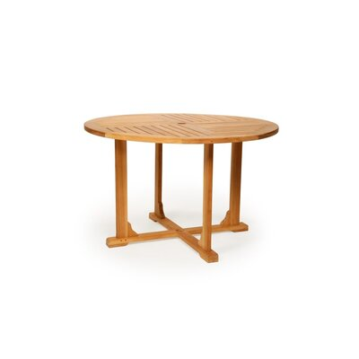 Teak Round Dining Table, 36