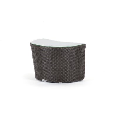 Caluco LLC Moon Wicker End Table