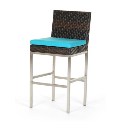 Caluco LLC Mirabella Bar Stool with Cushion