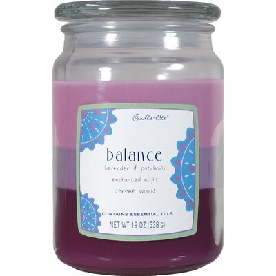 Balance 3 Layer Jar Candle