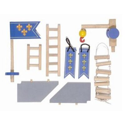Le Toy Van Castle Accessories Set in Blue