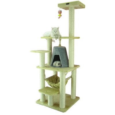 "Armarkat 65"" Classic Cat Tree in Beige"