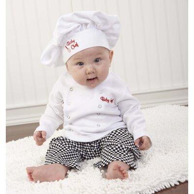 "Baby Aspen ""Big Dreamzzz"" Baby Chef 3 Piece Layette"