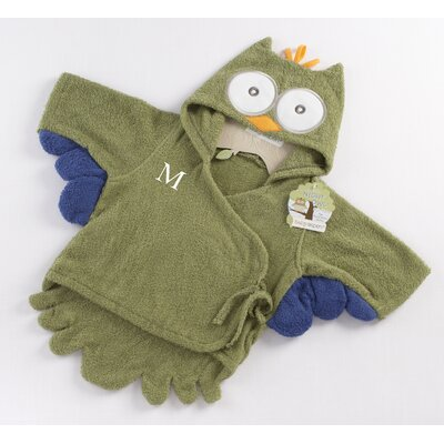 Baby Aspen ''My Little Night Owl'' Hooded Terry Spa Robe