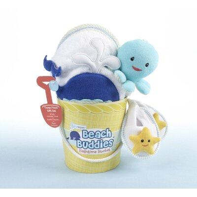 """Baby Aspen """"Beach Buddies"""" 3-Piece Deep Sea Gift Set"""